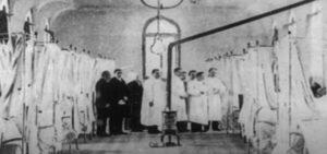 Fantasma de Enfermera en hospital