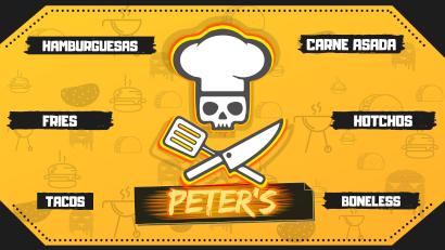 Logo Peters Hamburguesas